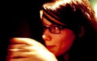 unscharf gehaltenes frauenportrait. aufnahme: tangerm?nde, am 26. m?z 2005